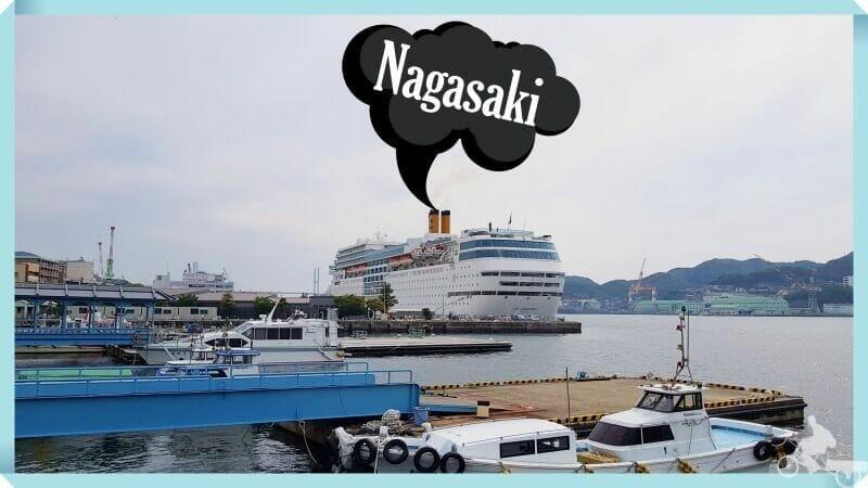 puerto cruceros nagasaki - crucero por Japón y Corea del Sur