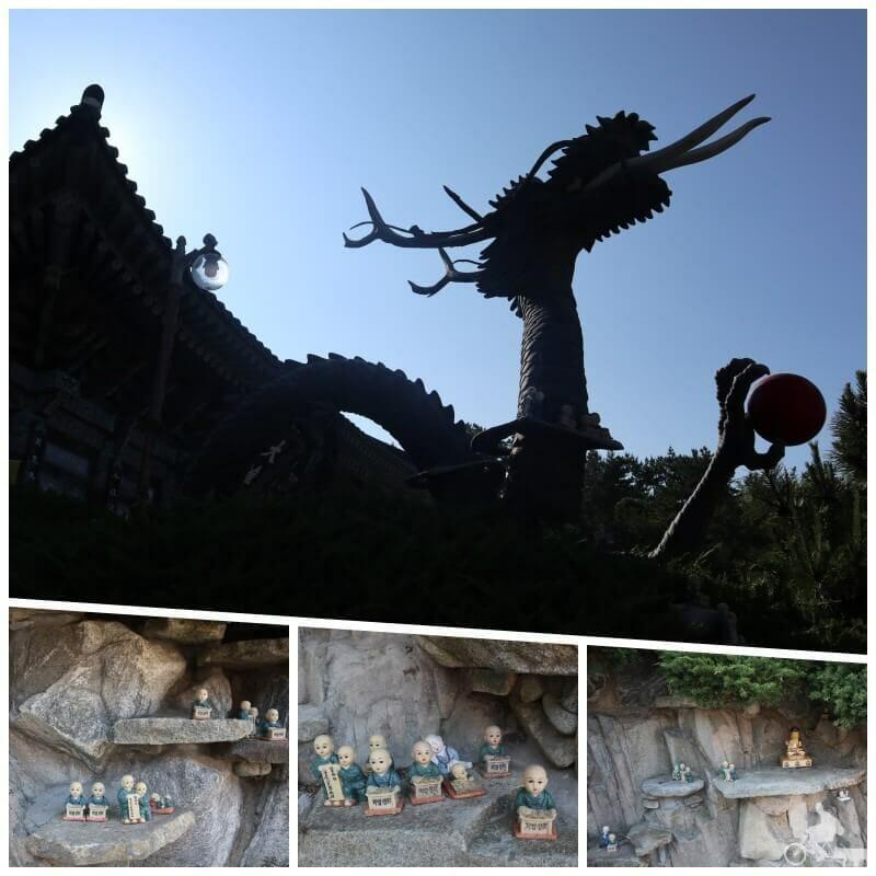 dragón templo haedong yonggungsa
