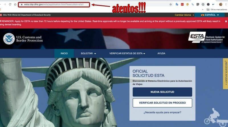 esta usa pagina oficial - pagina oficial esta eeuu
