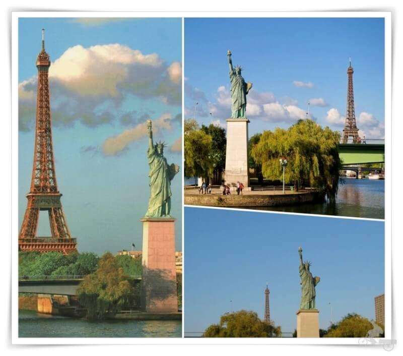 estatua libertad que visitar en paris