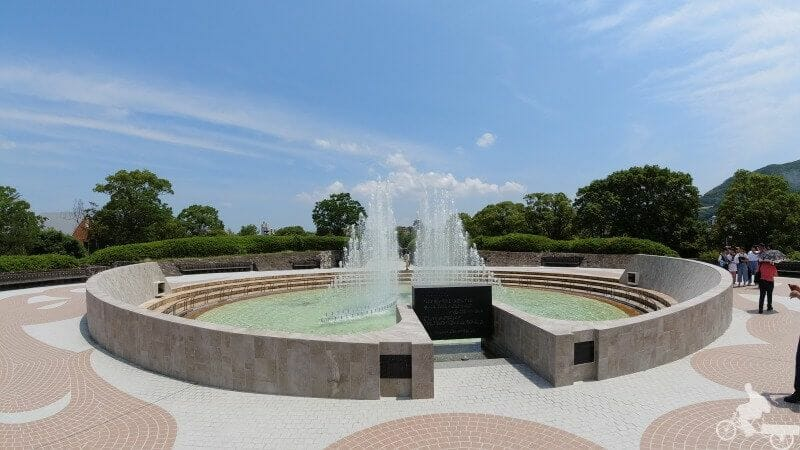fuente de la paz nagasaki