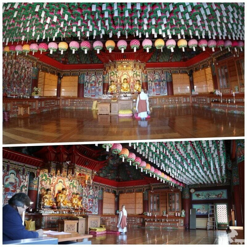ceremonia templo haedong yonggungsa