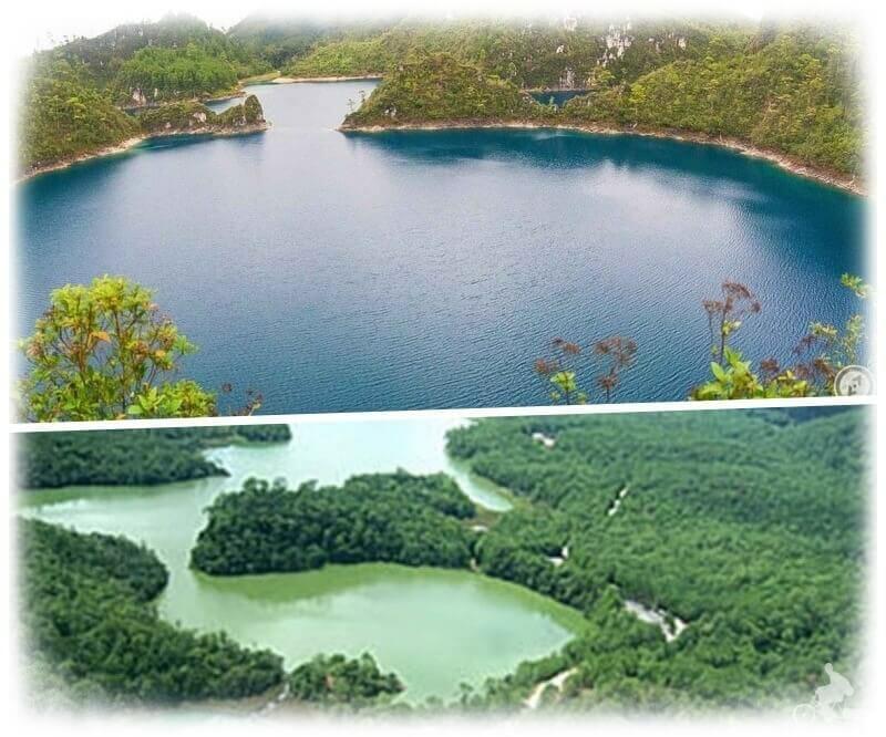 lagos montebello - lugares que visitar en chiapas