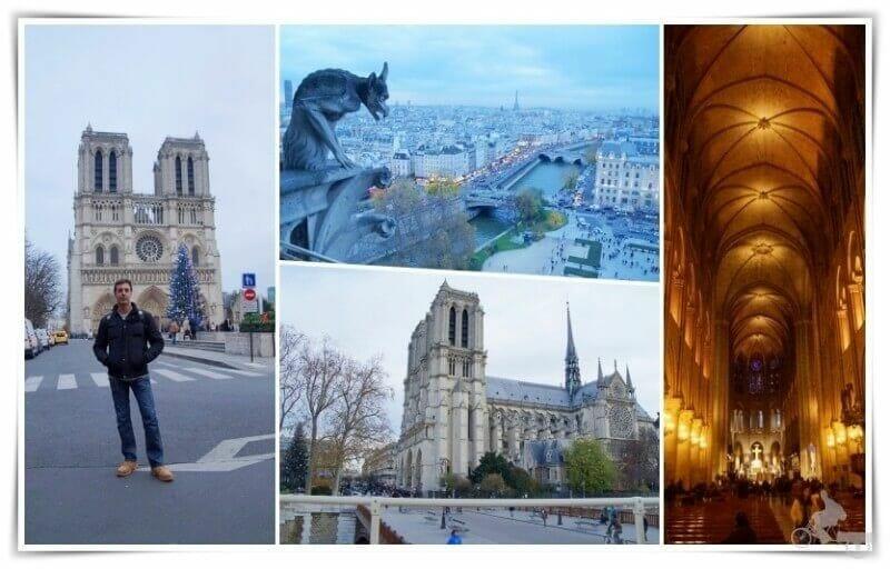Notre Dame que visitar en París