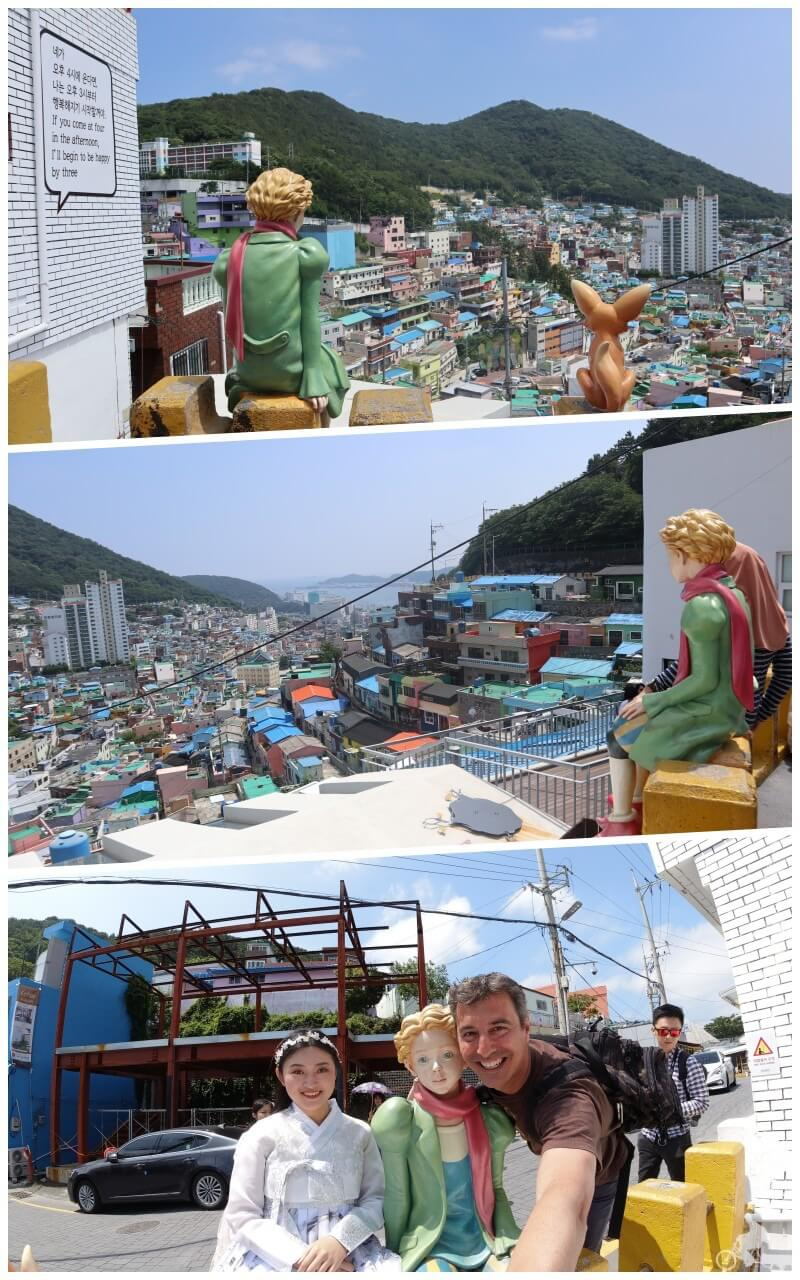 principito de gamcheon culture Village