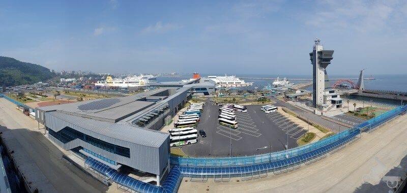 puerto cruceros isla de jeju