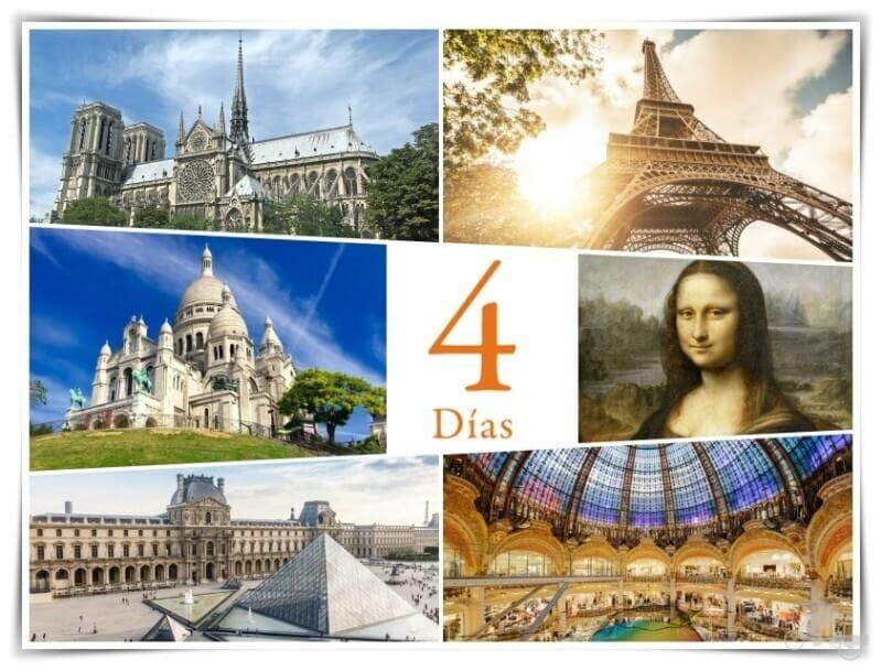 Qué ver en París en 4 días