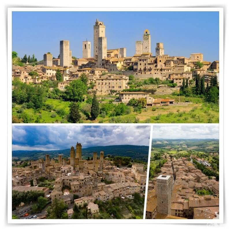 san gimignano toscana - excursiones desde Florencia