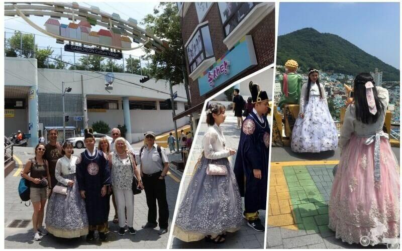 trajes tradicionales corea del sur