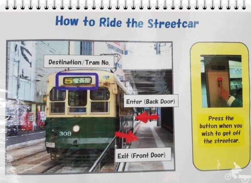 nagasaki tram consejos