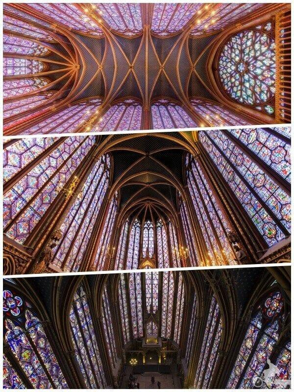 vidrieras de la saint chapelle de parís
