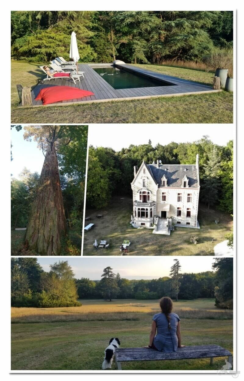 El castillo La Thuilière - jardin