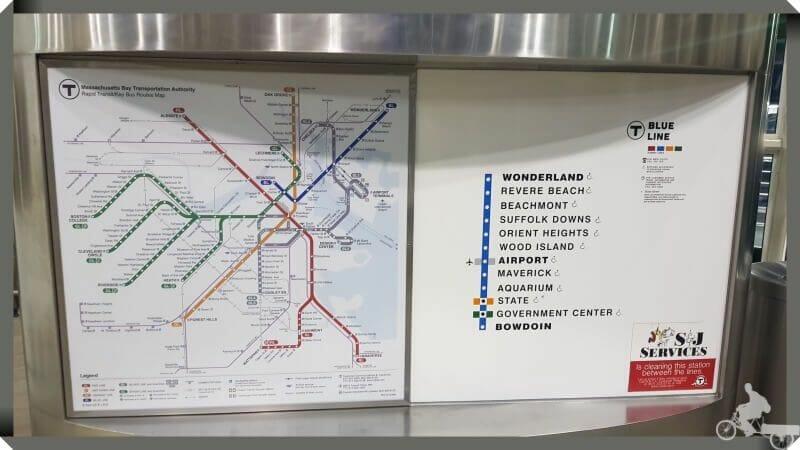 plano linea azul metro boston