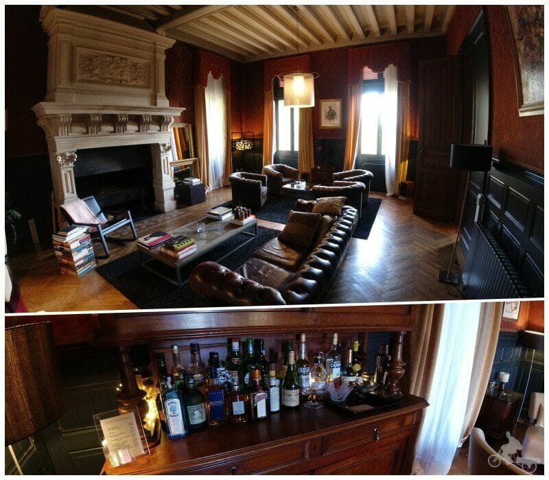 salon El castillo La Thuilière