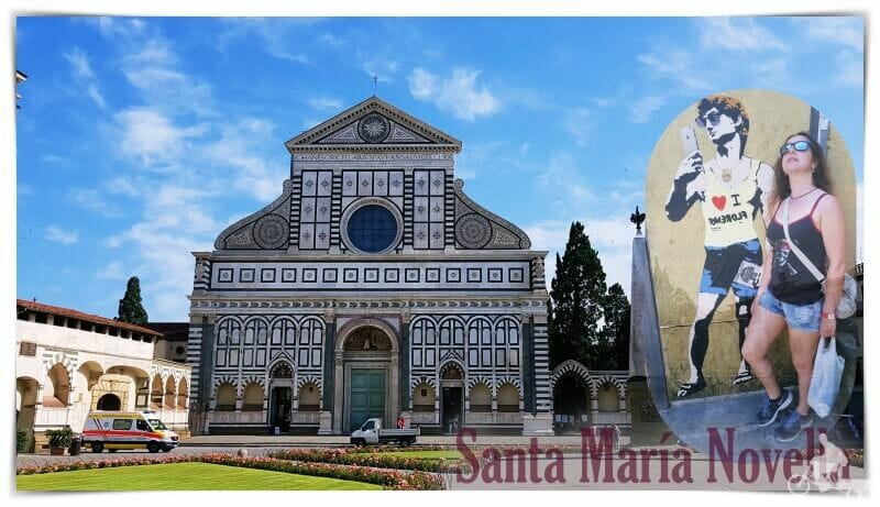 iglesia santa Maria novella - Florencia
