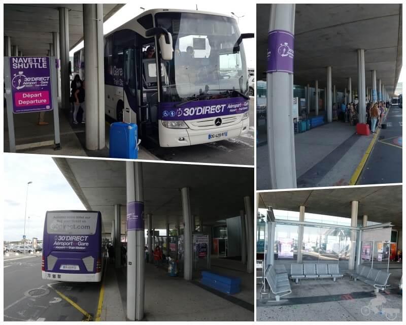 autobus 30 minutos aeropuerto burdeos