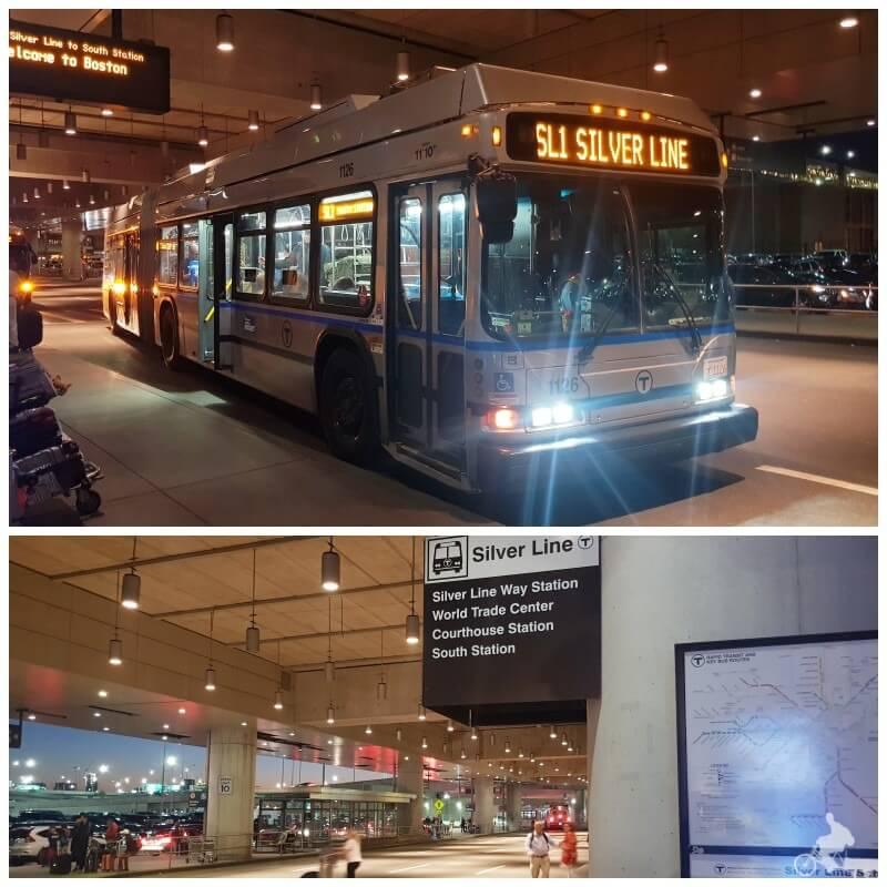autobuses silver line aeropuerto boston