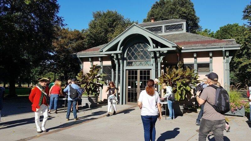 Centro de visitantes del Common Park
