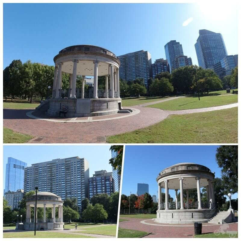 Quiosco Parkman - boston common park