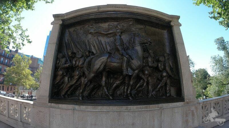 Robert Gould Shaw y MA 54th Memorial