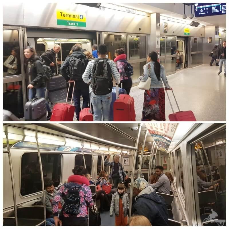 airtrain jfk manhattan nueva york