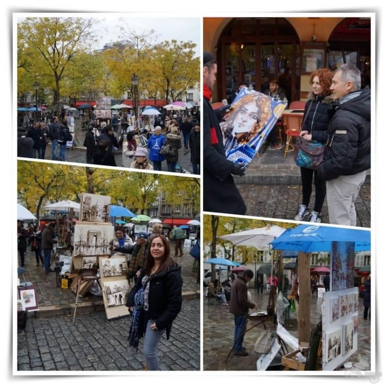 barrio montmartre - Qué ver en París en 4 días