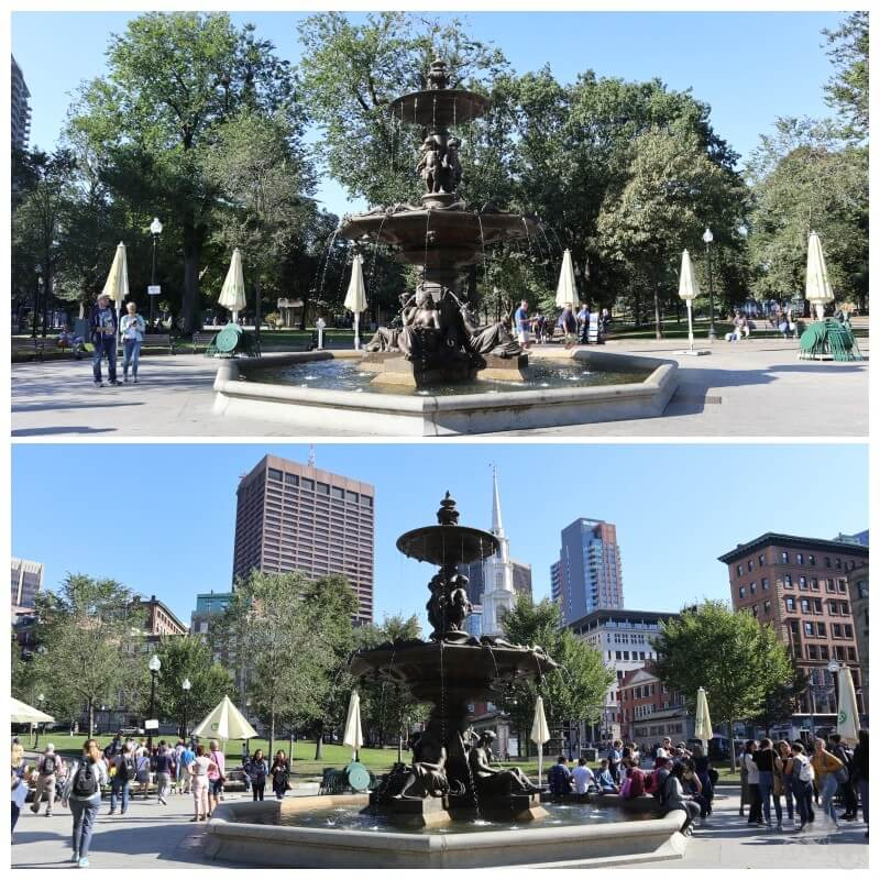 brewer fountain common park