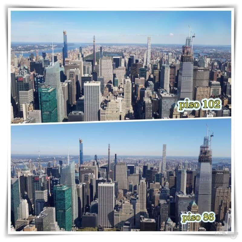 central park desde el piso 102 empire state