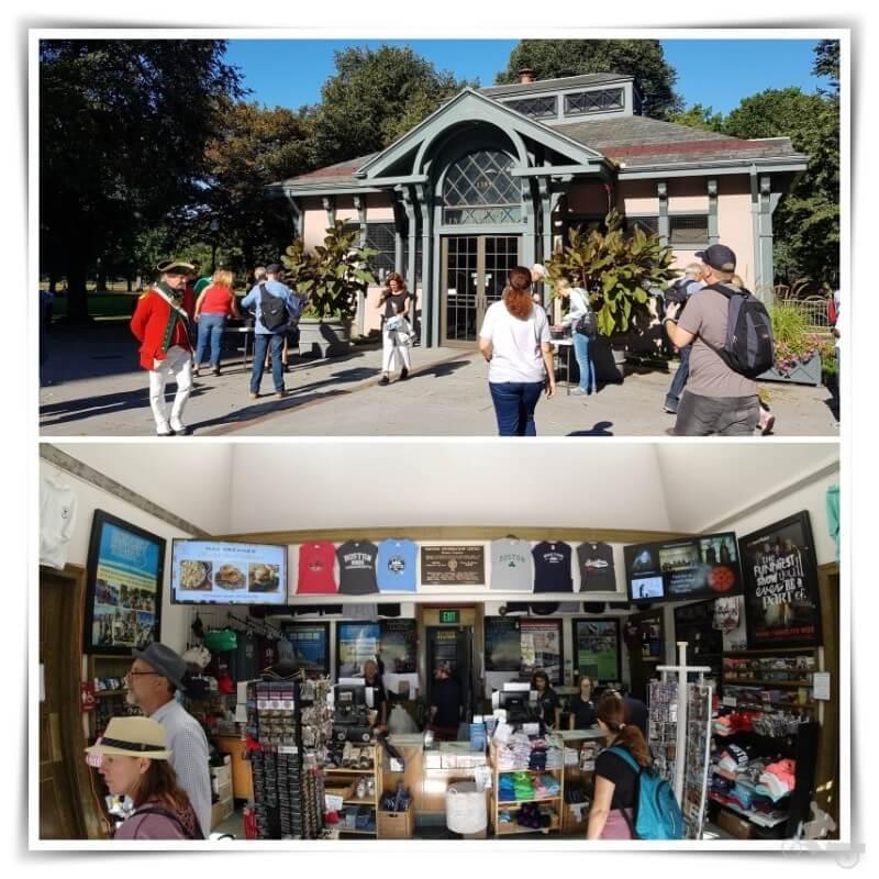 Centro de visitantes del Common Park Boston