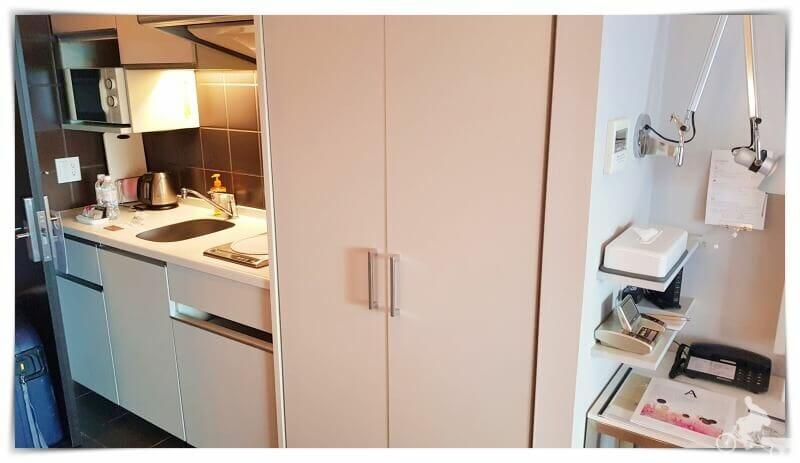 cocina habitacion citadines shinjuku