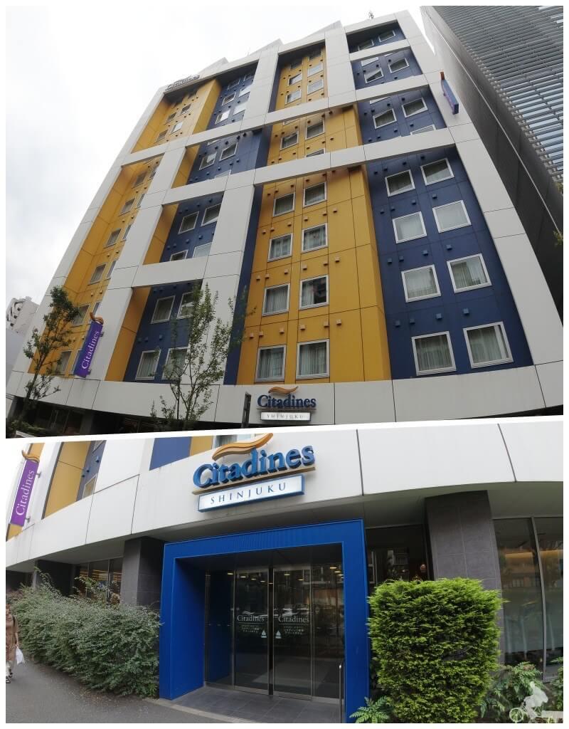 fachada citadines shinjuku tokyo hotel opiniones