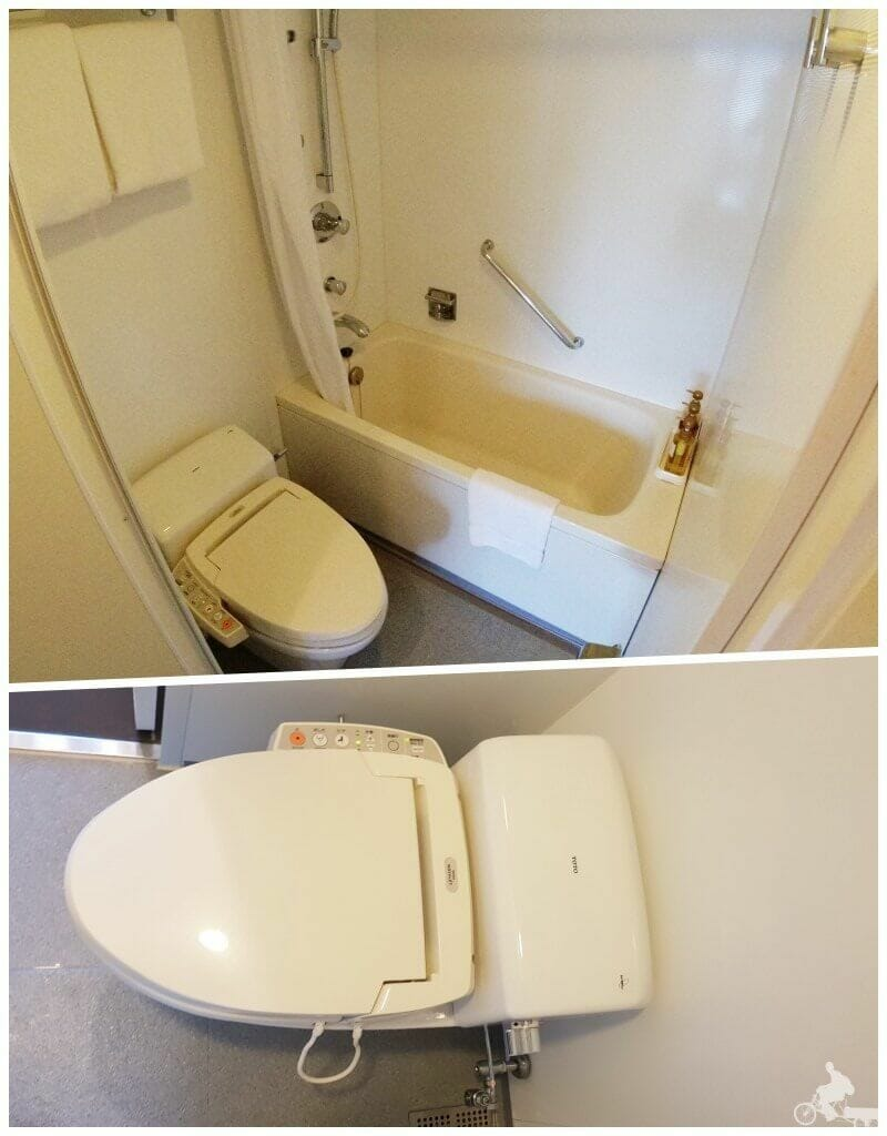 baño citadines shinjuku hotel