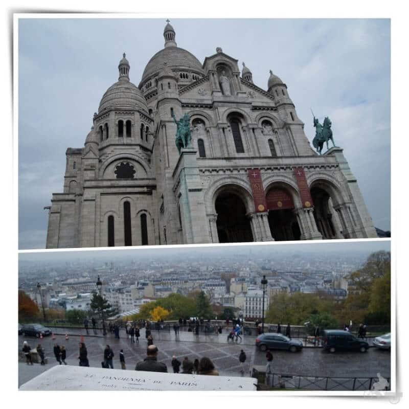 sacre coeur montmartre - Qué ver en París en 4 días