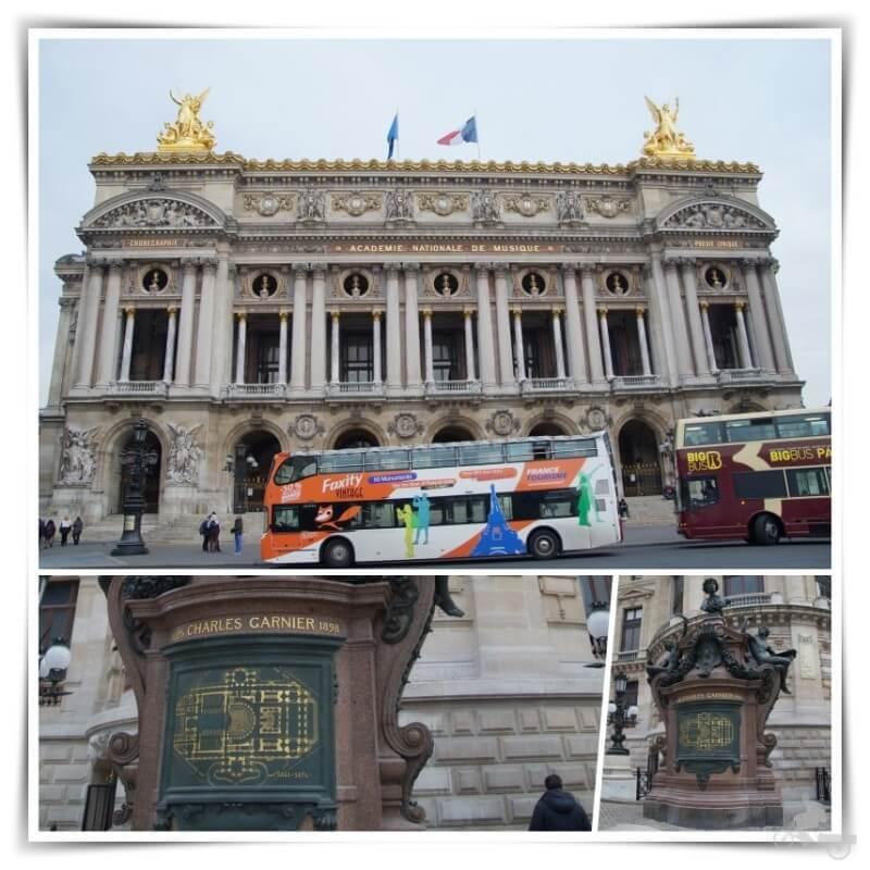 opera garnier paris - Qué ver en París en 4 días