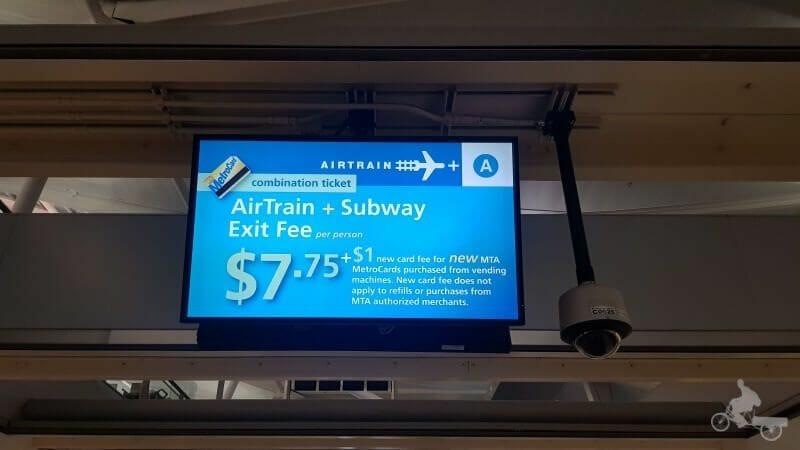 precio aeropuerto JFK a Manhattan nueva york