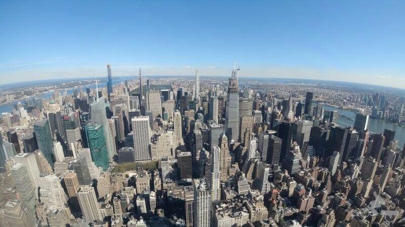 vistas del piso 102 empire state