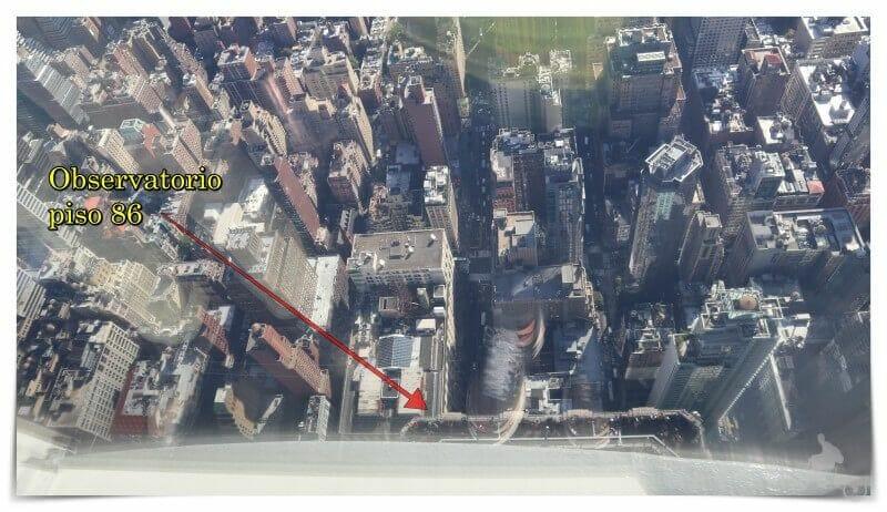 piso 86 desde piso 102 empire state