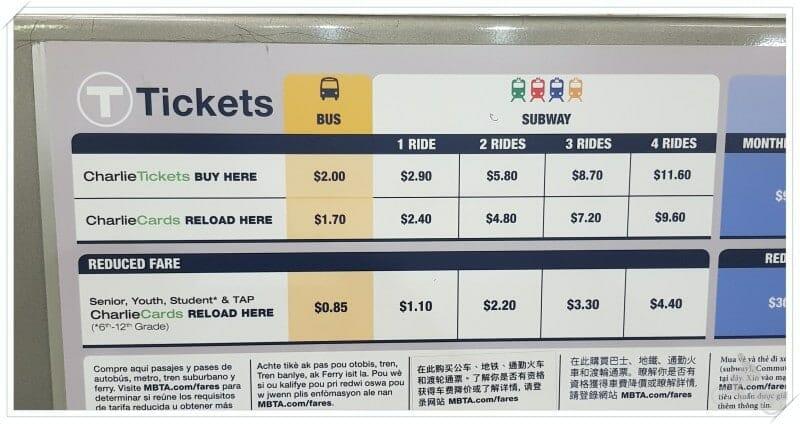 billetes y abonos transporte boston