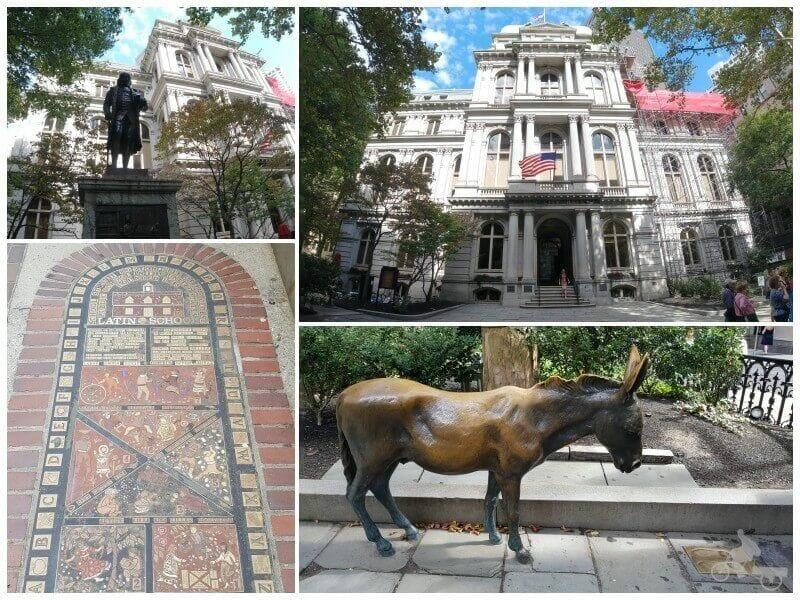 Boston Latin School & Escultura de Benjamin Franklin