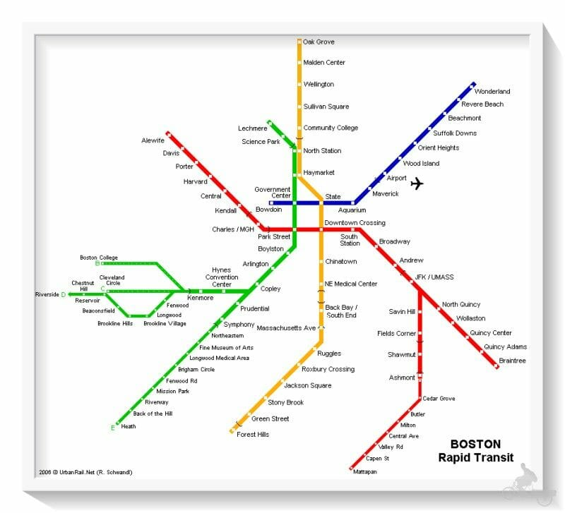lineas metro boston