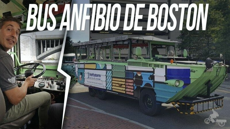bus anfibio de boston - duck tours