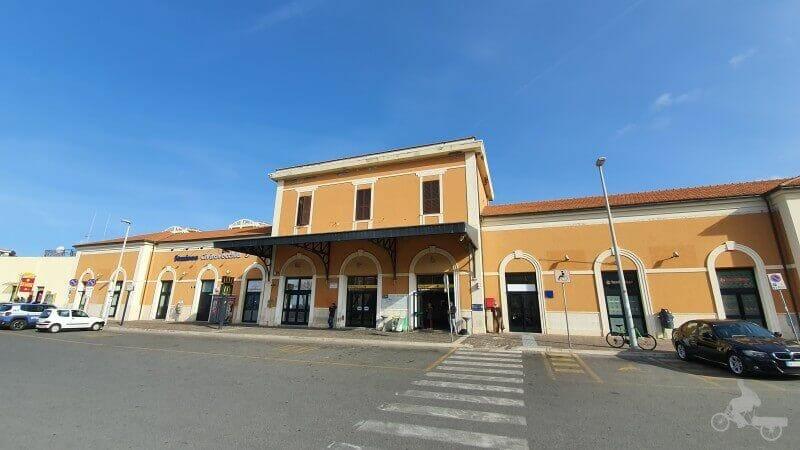 estacion tren civitavecchia a roma
