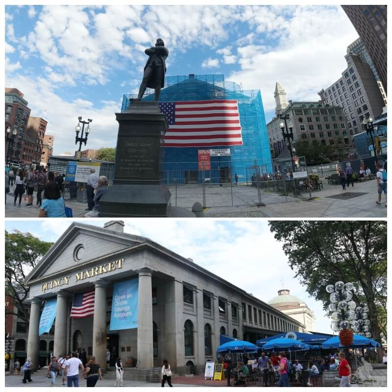 Faneuil hall - Freedom trail