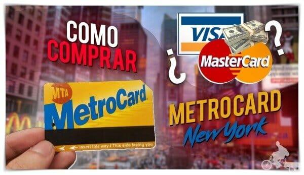 como comprar la metrocard de Nueva York