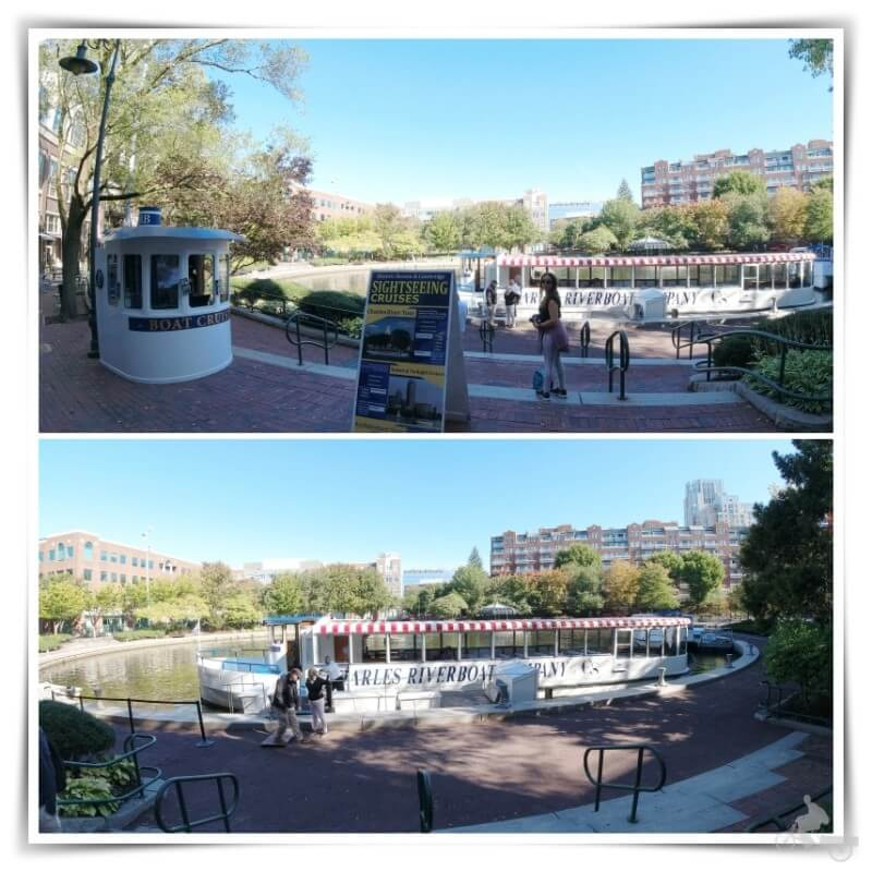salida crucero rio charles- boston