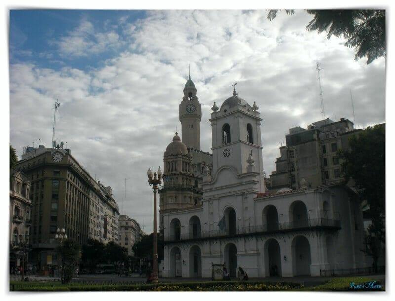 cabildo plaza mayo - barrio montserrat buenos aires