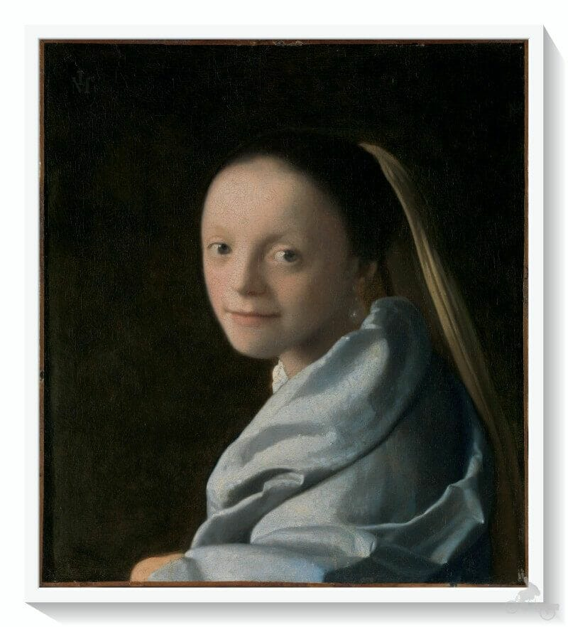 Study of a Young Woman - met
