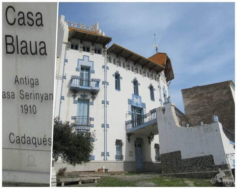 casa blaua de Cadaques Girona