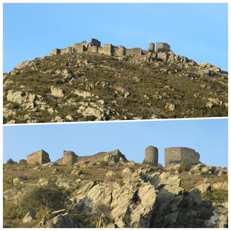 castillo de Sant Salvador - sant pere de rodes