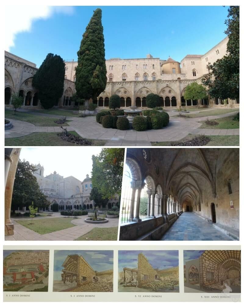 claustro catedral tarragona